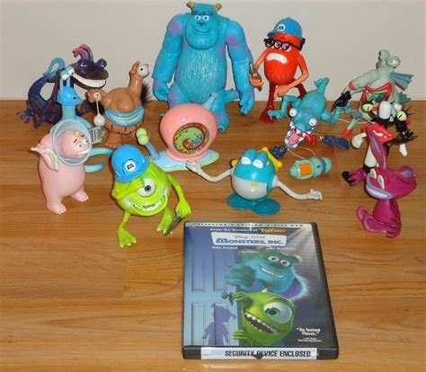 the disney pixar monsters universitytoy story zone also acts as a disney pixar monsters inc lot of 13 toys dvd ebay