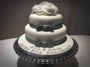 11 romantic 25th anniversary cake decorating ideas wedding cake ideas