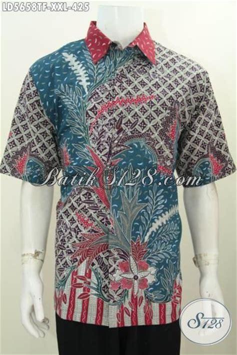 Baju Hem Formal baju hem modis mewah untuk acara formal dan seragam kerja kemeja batik tulis lengan pendek