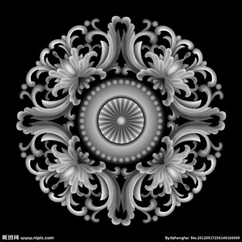 Grayscale 3d Relief Picture And Images