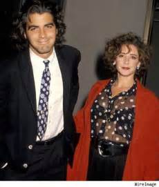 George clooney with his first and only wife talia balsam since their