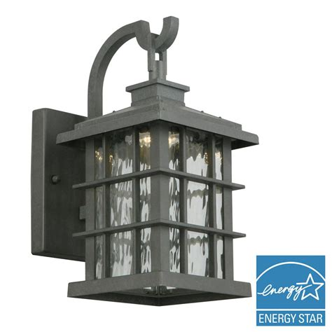 outdoor ls lanterns home decorators collection summit ridge collection zinc