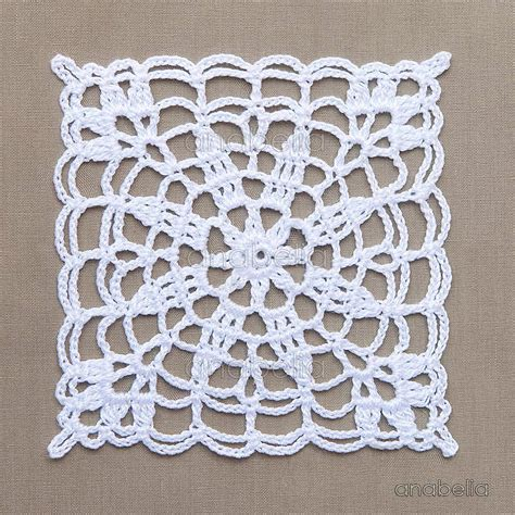 Crochet Motif Patterns For Tablecloth Part 5 How To Join crochet lace motifs in pink and white free patterns