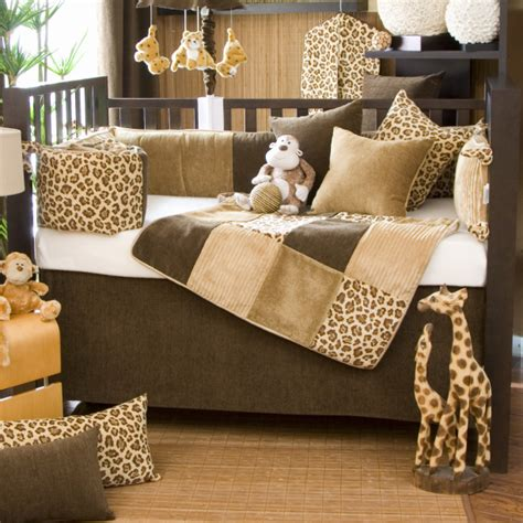 Animal Print Crib Set by Cheetah Print Crib Bedding Set Bedding