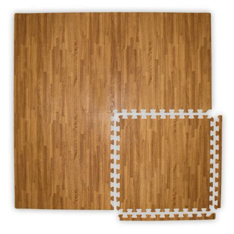 Wood Foam Floor Tiles by Realsoft Wood Foam Tiles Are Puzzle Mats By Floormats