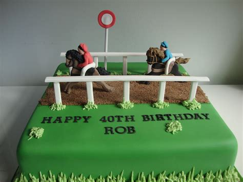 Simple Birthday Decorations At Home by Horse Racing Cake Celebration Cakes Cakeology