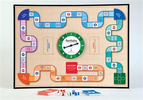design game board software portfolio board game student work creative student
