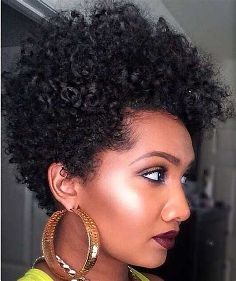 short haircuts for thin natural hair 20 cute short natural hairstyles short hairstyles 2017