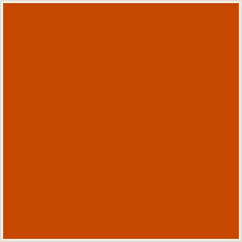 burnt orange color code c74800 hex color rgb 199 72 0 burnt orange orange red