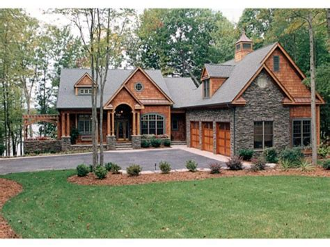view plans lake house craftsman house plans lake homes