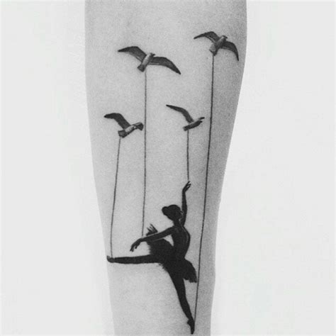 ballet dancer tattoo designs 40 wonderful ballerina dancer designs tattooblend