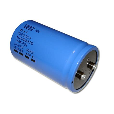 what is a large capacitor 1x 16000uf 60v large can electrolytic capacitor 60vdc 16000mfd 60 volts 16 000 ebay