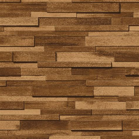 wood panel removable wallpaper wallsneedlove muriva thin wood block pattern realistic faux effect