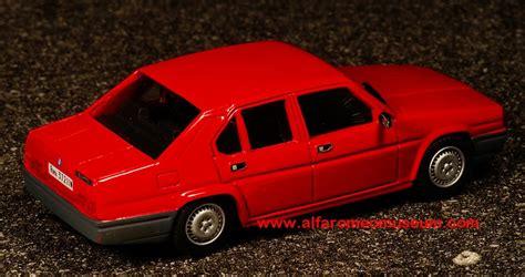 1984 90 berlina stradale 1 43 171 alfa romeo model