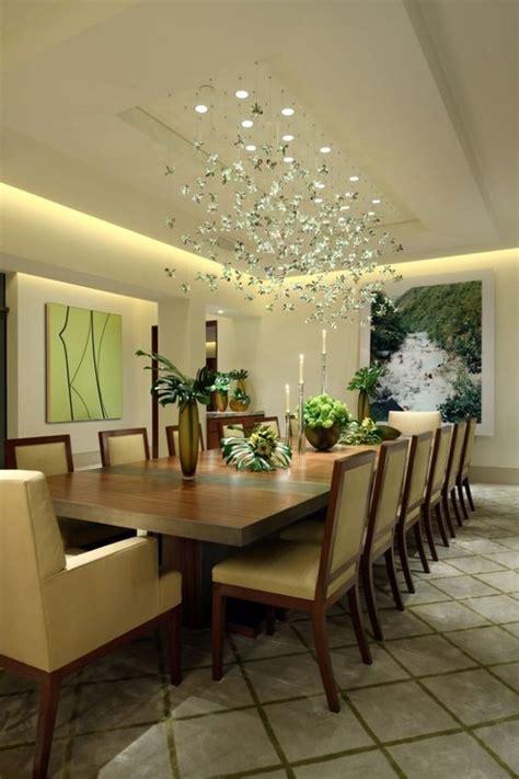 Esszimmer Decke by Beleuchtung Esszimmer Abgeh 228 Ngte Decke Naturfarben Haus