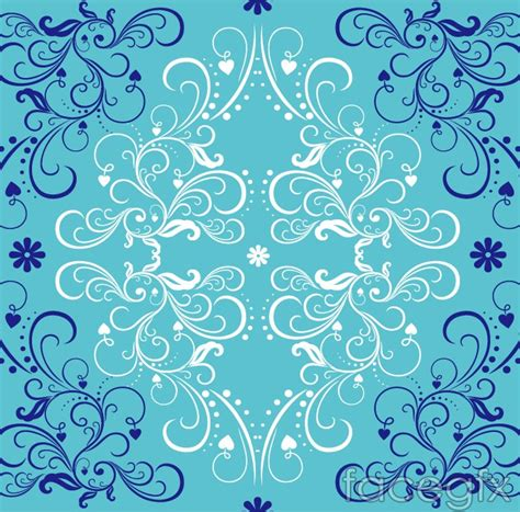 blue pattern background blue pattern background vector free