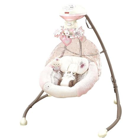 pink fisher price cradle swing fisher my little sweetie cradle n swing w9510 infants