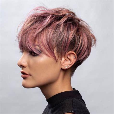 stylish short hairstyles  thick hair short haircut