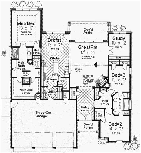 monster house plan traditional style house plans 2146 square foot home 1