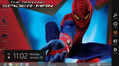 download spiderman themes for pc download gratis tema windows 7 the amazing spider man 4