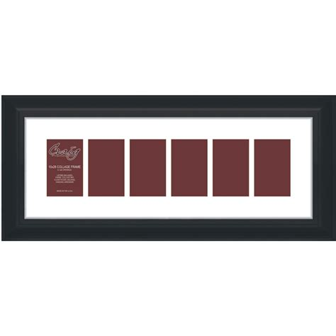 black picture frames with white matting craig frames 10x28 2 quot black picture frame white mat 6