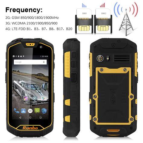 Runbo Q5 4g Ram 2gb Rom 16gb 13mp Lolipop Runbo H1 X6 F1 Xp7 runbo q5 4 5 quot 4g android smartphone ip67 analog 16gb 13mp dual sim nfc ebay