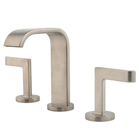 pfister lavatory 49 2 handle with s bn brushed nickel