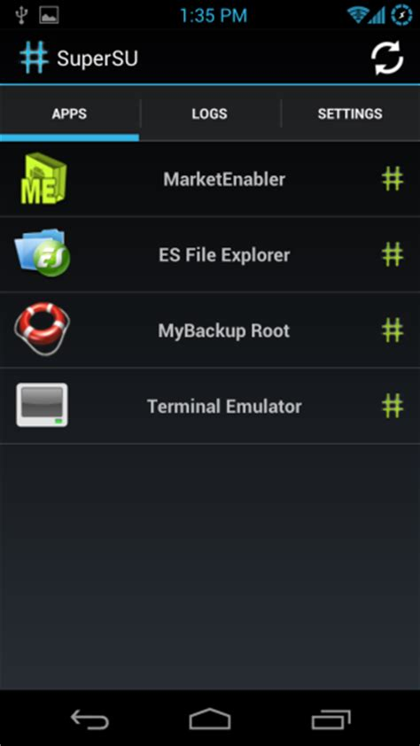 better app android supersu brings better superuser root permission management
