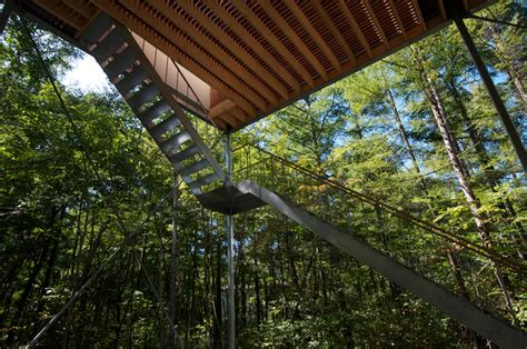 Modern Japanese Homes Go Hasegawa Pilotis In A Forest