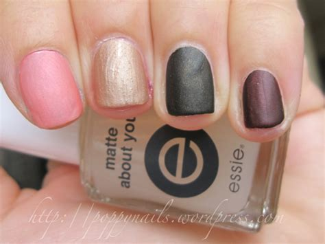 matte about you nails and things essie matte about you