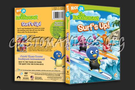 Backyardigans Surf S Up Dvd The Backyardigans Surf S Up Dvd Cover Dvd Covers