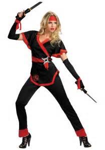 ninja costume adults halloween dragon lady ninja costume