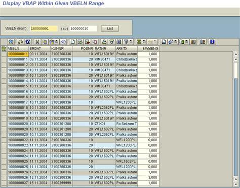 Alv Tutorial In Sap Abap | sap abap tutorial alv grid exle with cl gui alv grid