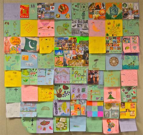Cultural Quilt by Diversity Quilts For International Week Kid World Citizen
