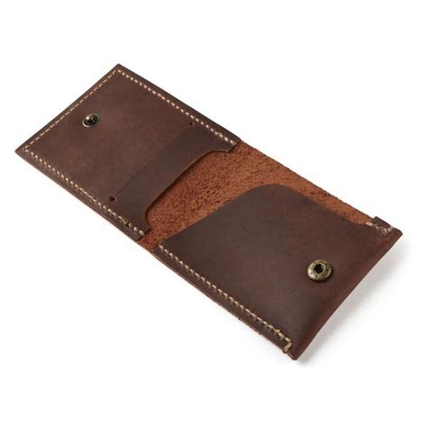Handmade Leather Wallet - northcore leather wallet handmade slim coast