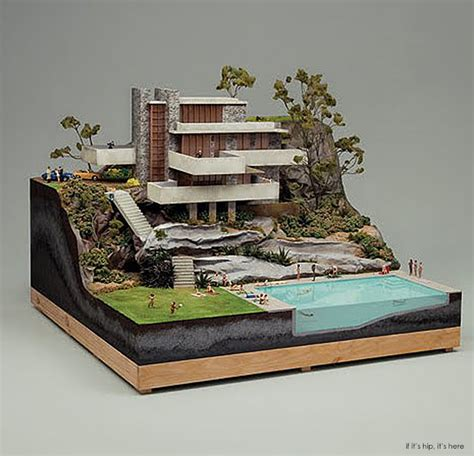 miniature residential house model architectural models architectural miniatures archives if it s hip it s here