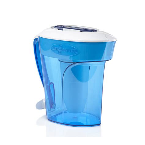 zero water pitcher zero water zp 010 10 cup water filter pitcher zp 010 the home depot