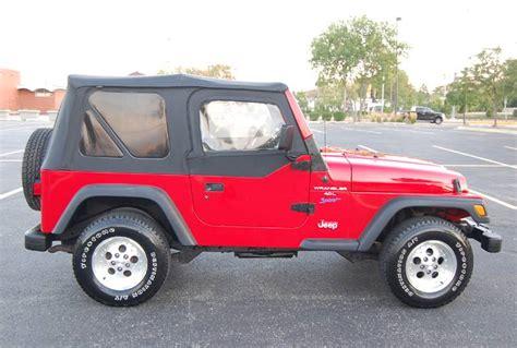 1998 Jeep Wrangler Tj 1998 Jeep Wrangler Sport 4 0 Tj Sport 5 Speed One Owner