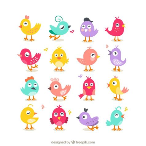 cute wallpaper vector free download collection of cute birds vector free download