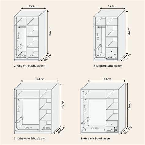 Schublade Zeichnung by Massivholz Kleiderschrank Quot Silentium Quot Buche Allnatura