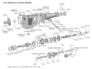 Ford 3 Speed Manual Transmission Identification Flathead Parts Drawings Transmissions