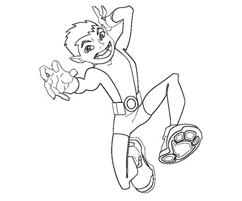 teen titans go beast boy coloring teen titans coloring pages az coloring pages