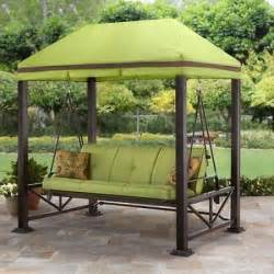Garden Awnings And Canopies Swing Gazebo Outdoor Covered Patio Deck Porch Garden