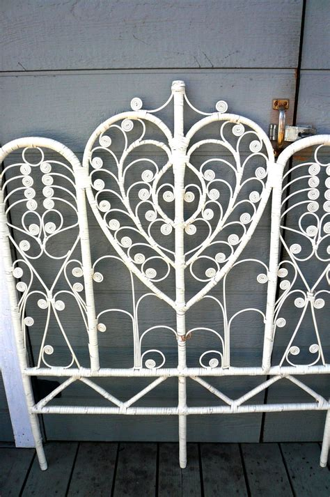 wicker headboards resvd for erika vintage 60 s wicker headboard by