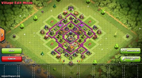 layout coc paling kuat th 7 formasi th 7 paling kuat farming anti giant