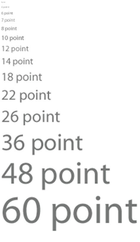 printed font size hoe werkt lettertype grootte pixels punten dpi en meer
