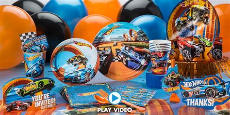 hot birthday themes hot wheels party supplies boys party themes boys