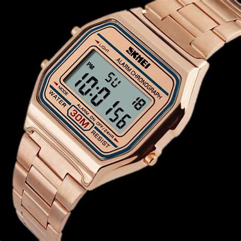 Skmei 1123 Gold skmei watches cool unique ledwatchstop