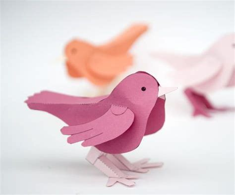 paper bird craft best 25 paper birds ideas on diy 3d decoupage