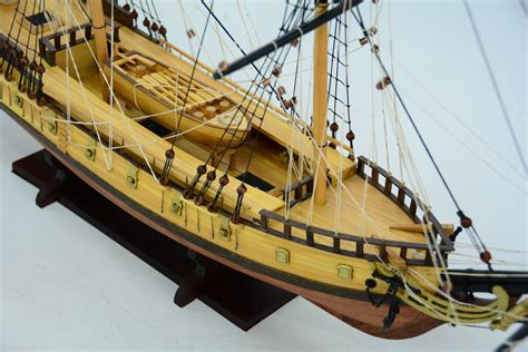 Handcrafted Ship Models - uss rattlesnake ship model 33 quot handcrafted wooden